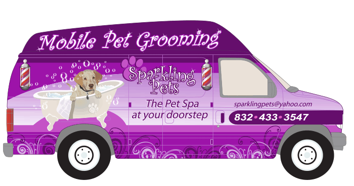 Sparkling Pets Mobile Pet Spa Dog Grooming