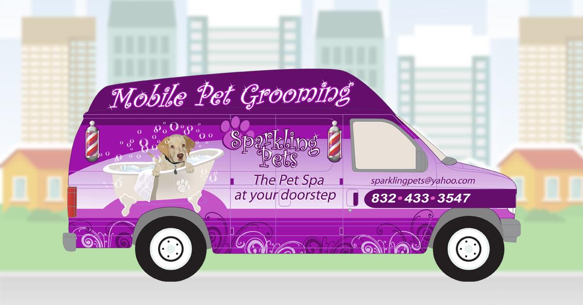 Pleasing Sparkling Pets Mobile Pet Spa Dog Grooming Home Interior And Landscaping Analalmasignezvosmurscom